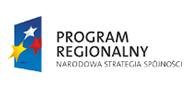 Logo Programu Regionalnego Narodowa Strategia Spójności.