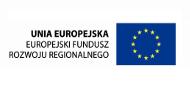 Logo Europejskiego Funduszu Rozwoju Regionalnego.