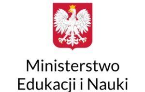 Logo Ministerstwa Edukacji i Nauki.